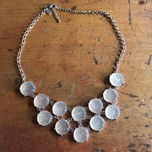 Cute rose gold statement necklace
